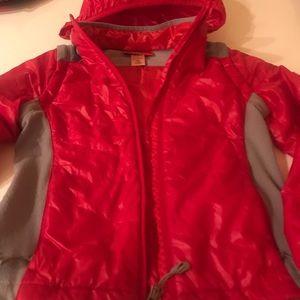 Light dawn jacket for girls from famous designer